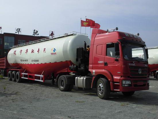 73立低密度粉粒物料运输半挂车